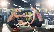 爱尚健身一对一私教训练体验