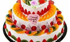 爱丽丝3层16英寸蛋糕