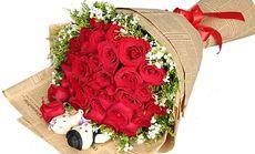 御花园33朵玫瑰
