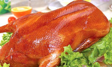 老北京果木烤鸭