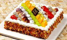 仙野蛋糕DIY8寸杏仁蛋糕