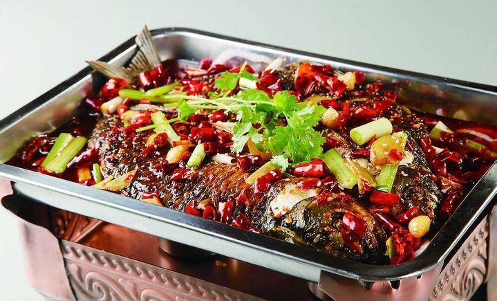 万州烤鱼每味每客饭庄