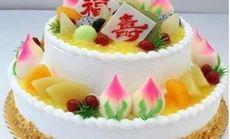 巴黎工坊双层水果夹心蛋糕