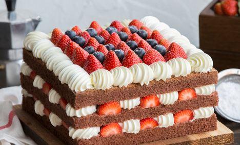 幸福西饼蛋糕 - 大图
