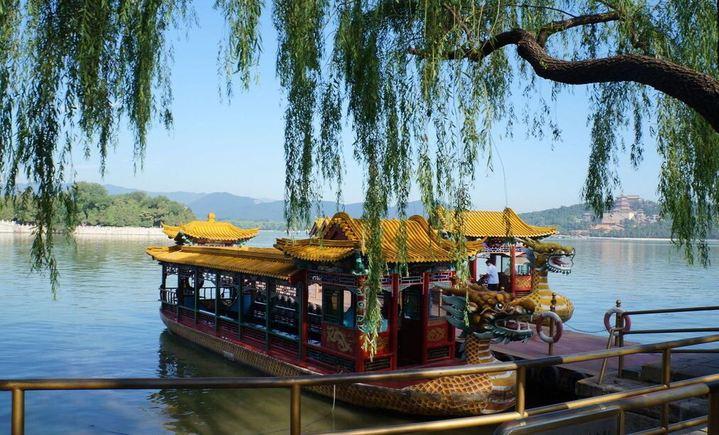 京城水系皇帝船码头
