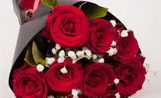 千里香11支红玫瑰