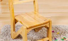 大小木作可拼装实木儿童椅