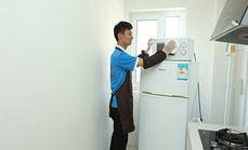 家福宁单开门冰箱清洗