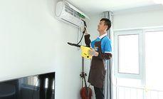 家福宁壁挂式空调清洗