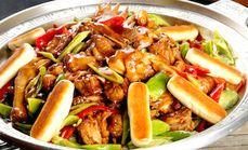 创食代铁锅芦花鸡