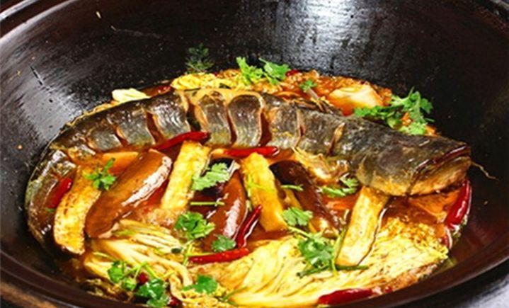 温泉柴火鱼
