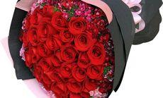 喵有树花店33朵精品玫瑰