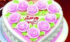 生日蛋糕14英寸单层