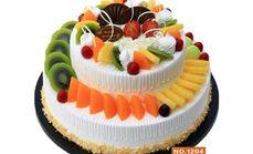 伊米蛋糕双层水果蛋糕