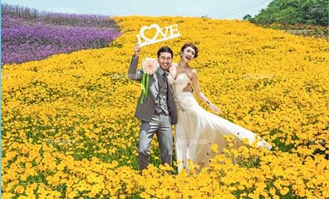 纽约经典婚纱摄影