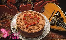沁香园十英寸巧克力蛋糕