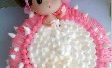 爱之旅卡通娃娃蛋糕