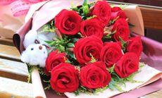 美心爱你一生一世玫瑰花束