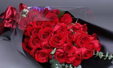 花藤鲜花33朵多款玫瑰花束