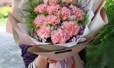 九州唯爱19朵康乃馨花束