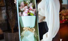 花之舍11束玫瑰鲜花礼盒