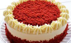 萌萌哒红丝绒蛋糕