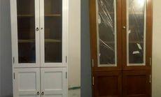 立达亮业旧家具喷漆