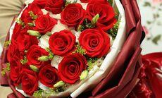 喜乐花坊19枝红玫瑰