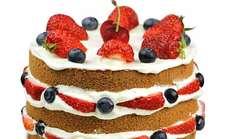 10英寸裸蛋糕