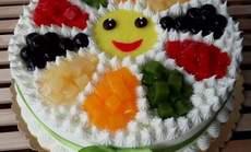 尚味滋8寸水果蛋糕
