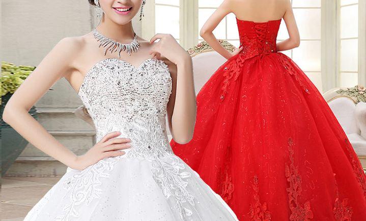 蔓蒂俏新娘婚纱礼服