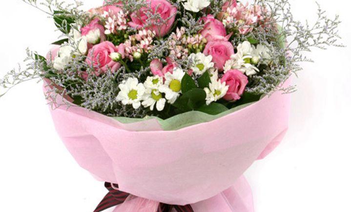 韩艺花束鲜花 - 大图