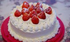 8寸奶油蛋糕