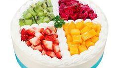 爱都鲜奶水果夹心蛋糕