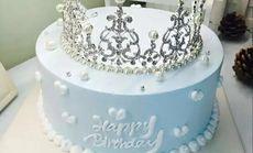 爱都女神王冠水果夹心蛋糕