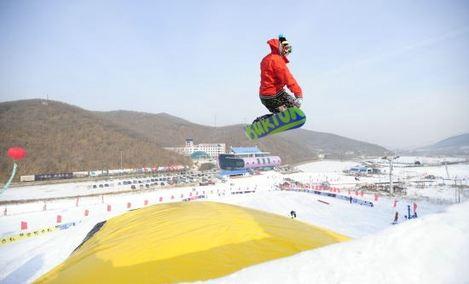 莲花山滑雪场 - 大图