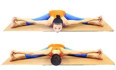 婧宁瑜伽教练培训课坐角式