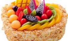 缘心蛋糕八寸生日蛋糕