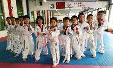 陈中跆拳道体验课