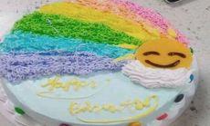 甜咪10英寸彩虹蛋糕