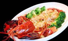 鱼仔萌芝士焗波士顿龙虾套餐