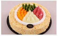 米拉美味10英寸生日蛋糕