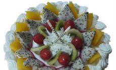 美心12寸水果蛋糕