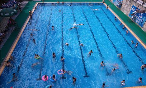 57中游泳池