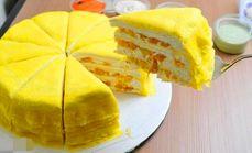 卡诺烘焙芒果千层蛋糕