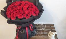 繁花语99朵玫瑰