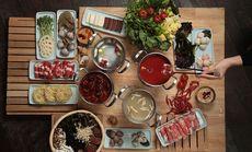 燃餐厅海鲜火锅晚餐自助