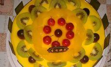 天天鲜蛋糕8寸奶油蛋糕