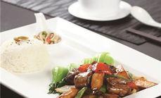 单人豉汁土豆排骨饭套餐