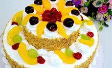 金麦松双层蛋糕
